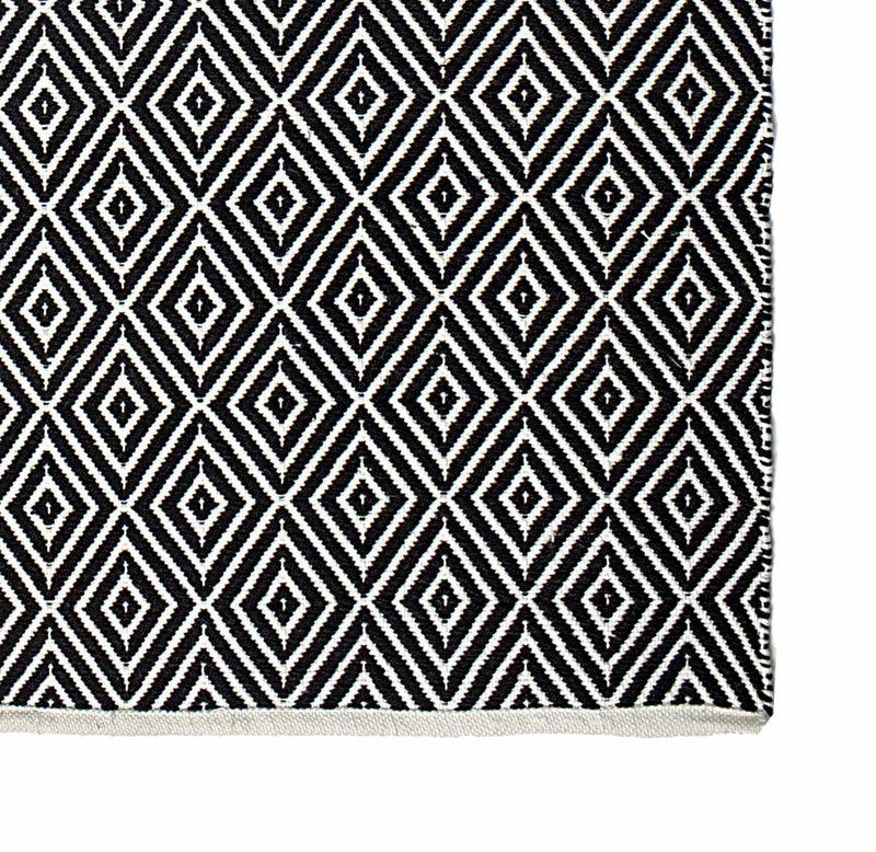2' x 3' Veria - Black & White Rug
