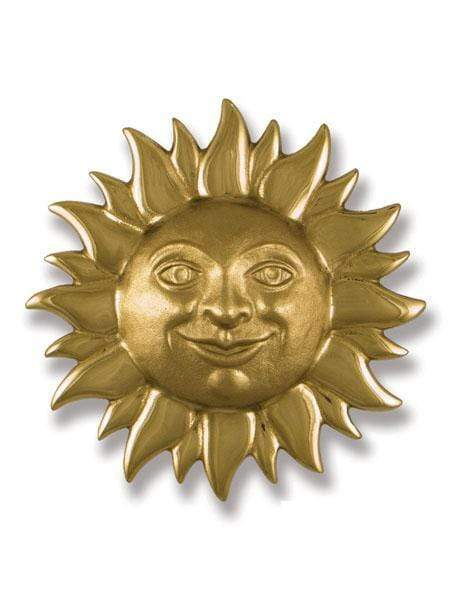 SMILING SUNFACE DOOR KNOCKER (BRASS)