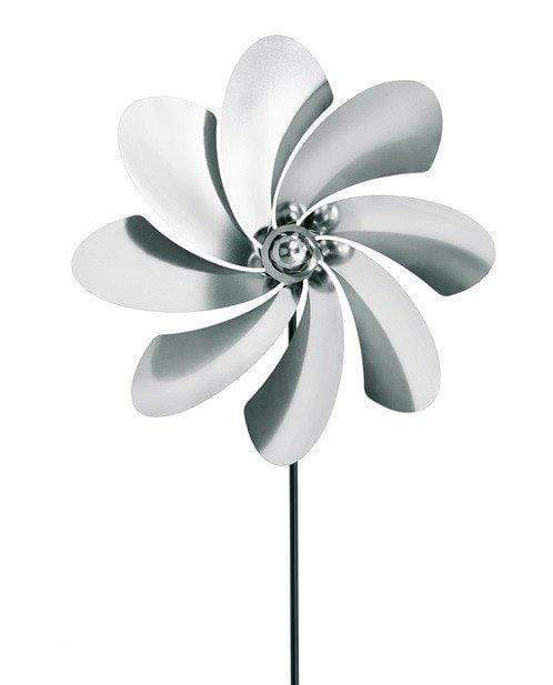 SMALL STAINLESS STEEL PINWHEEL (CURVE)