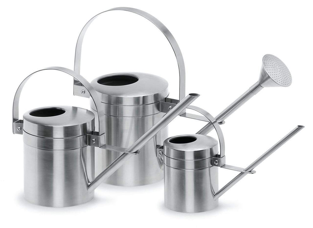 STAINLESS STEEL WATERING CAN (43 OZ)