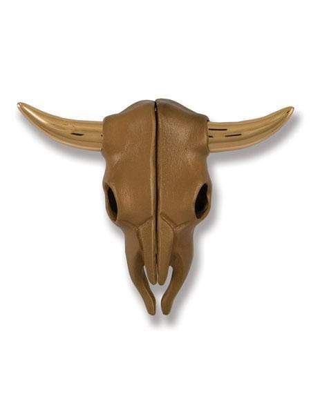 STEER SKULL DOOR KNOCKER (BRONZE)