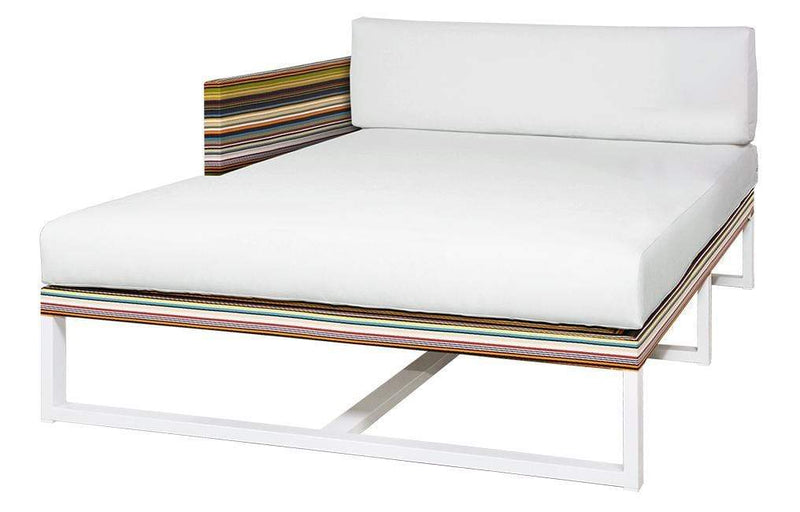 STRIPE RIGHT HAND CHAISE