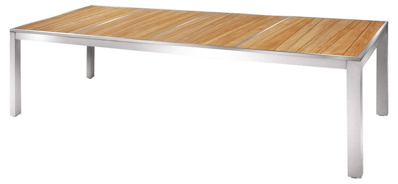 ZIX TEAK DINING TABLE (LARGE)