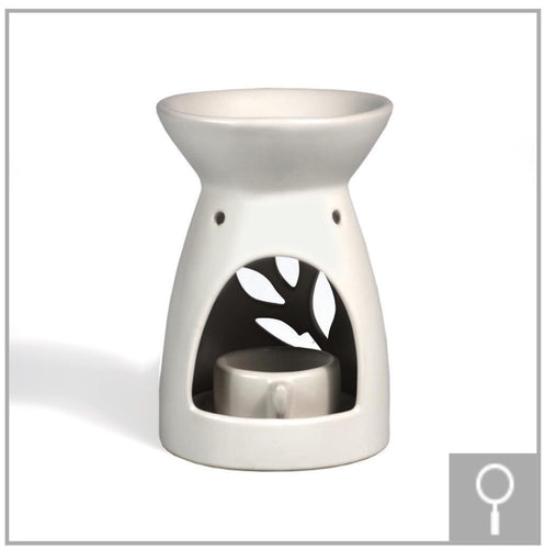 Oil Burner (White Matte)