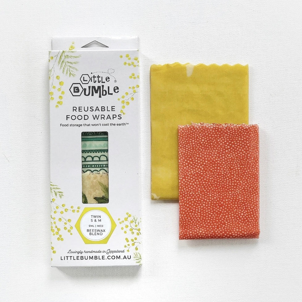 Bees Wax Wraps - Twin Small & Medium
