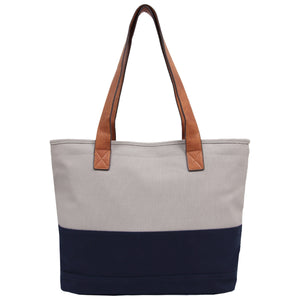 Candy Washed Canvas Tote - Grey