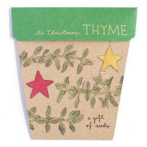 Seeds - Christmas Thyme Gift of Seeds