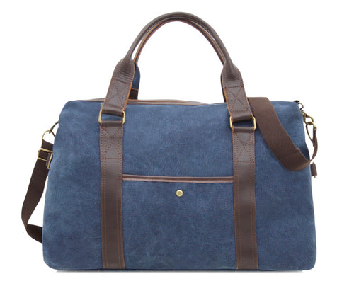Canvas Travel Bag - Navy