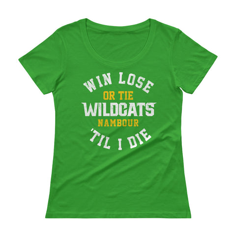 Win, Lose or Tie - Ladies' Scoopneck T-Shirt