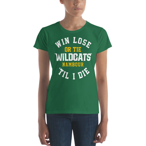 Win, Lose or Tie - Women's short sleeve t-shirt