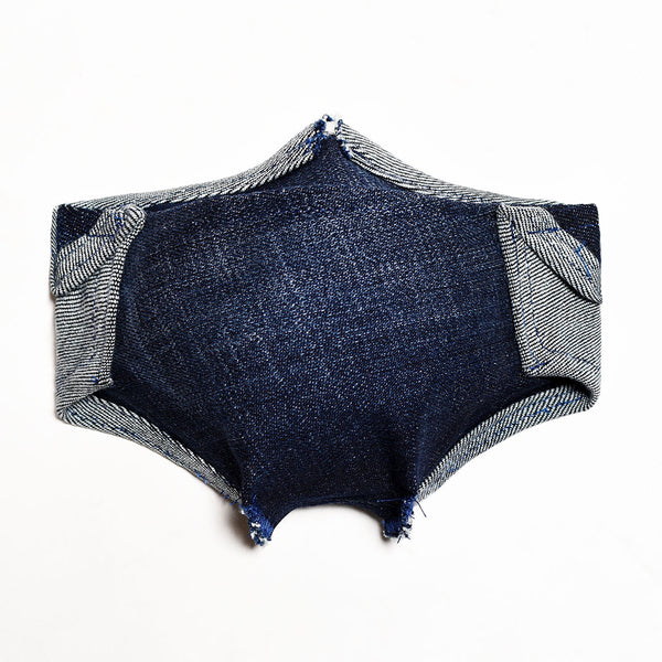 Mursaki Denim Mask - Dean Wash