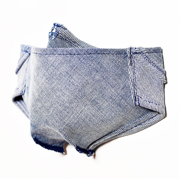 Mursaki Denim Mask - Jaeger Wash