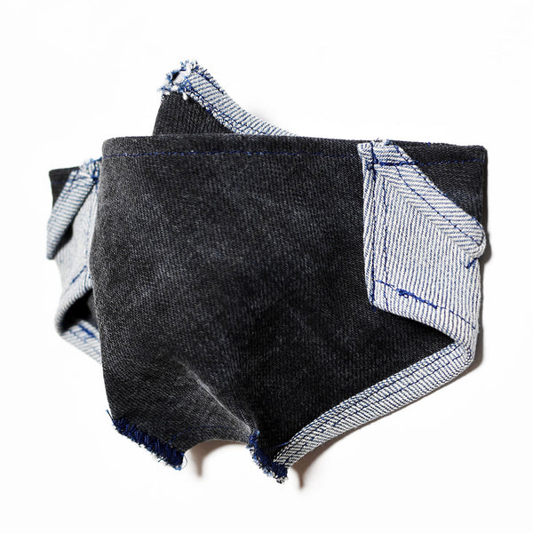 Mursaki Denim Mask - Kato Wash