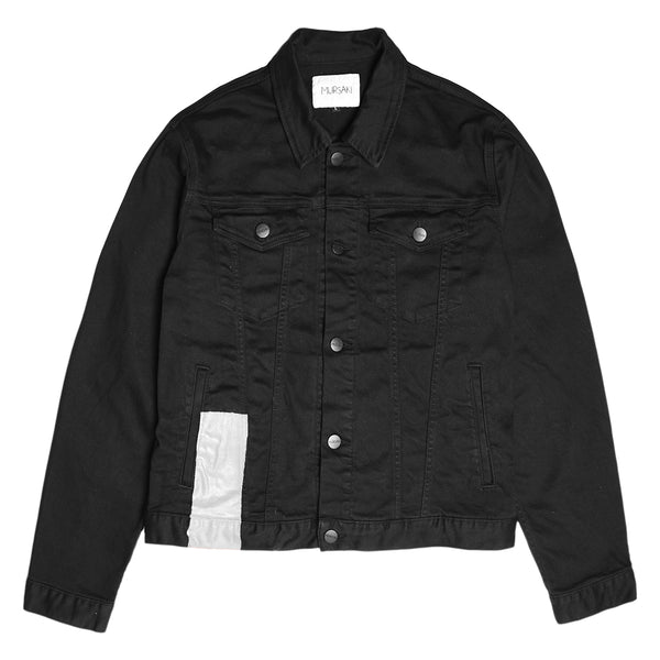 Mursaki Stripe Jacket - Bottom Black/Color