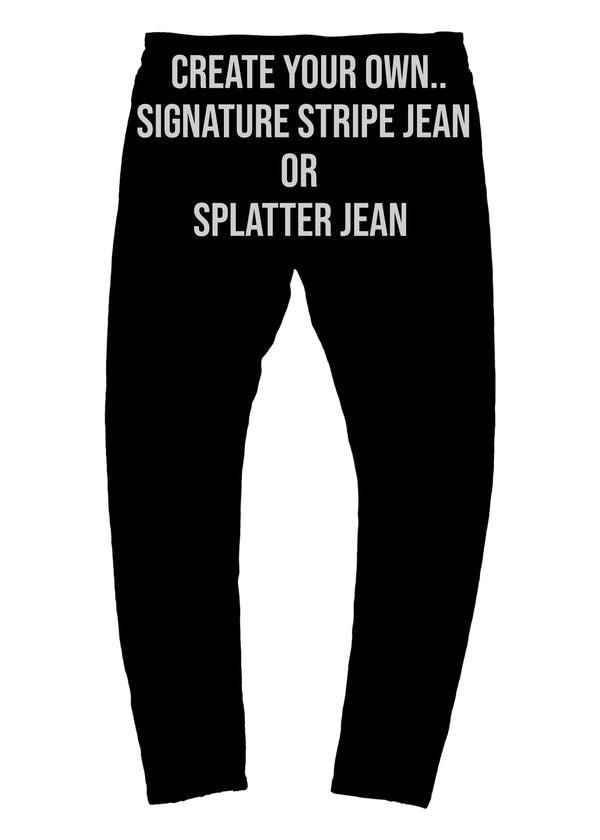 The Mursaki Stripe Jean - Create your own