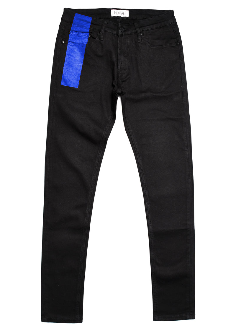 Mursaki Stripe Jean v2 - Black/Color