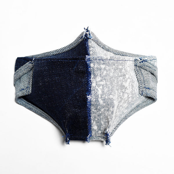 Mursaki Denim Mask - Split Dean/Dex