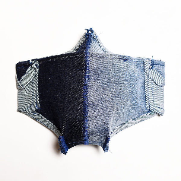 Mursaki Denim Mask - Split Dean/Jeager