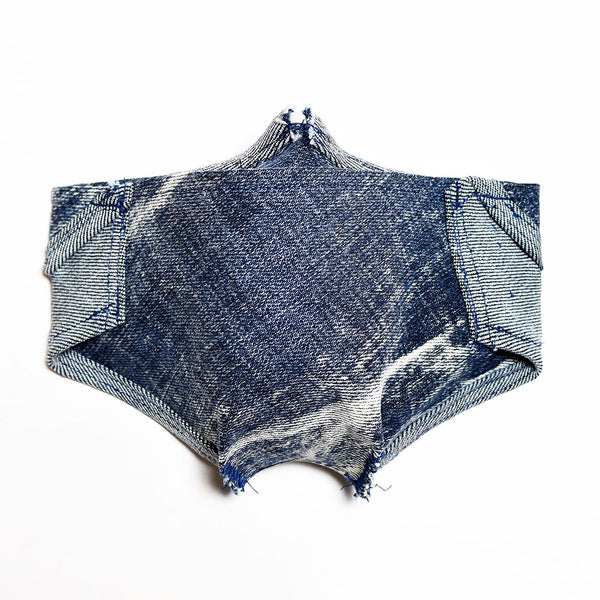 Mursaki Denim Mask - Zane Wash