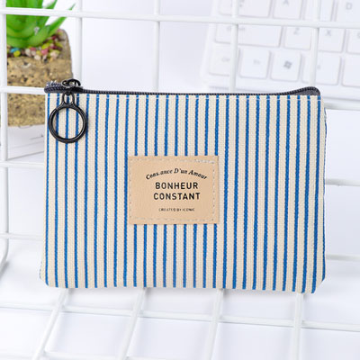 Simple Stripe Classic Design Wallet