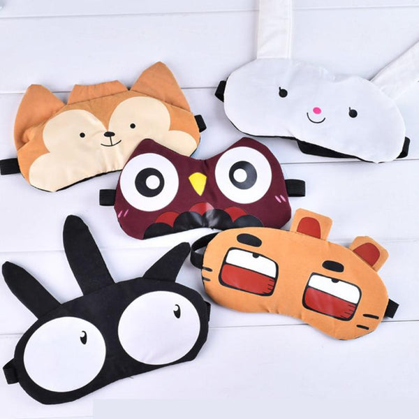 Cute Soft Padded Eye Mask