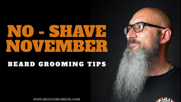 No Shave November Beard Care Tips