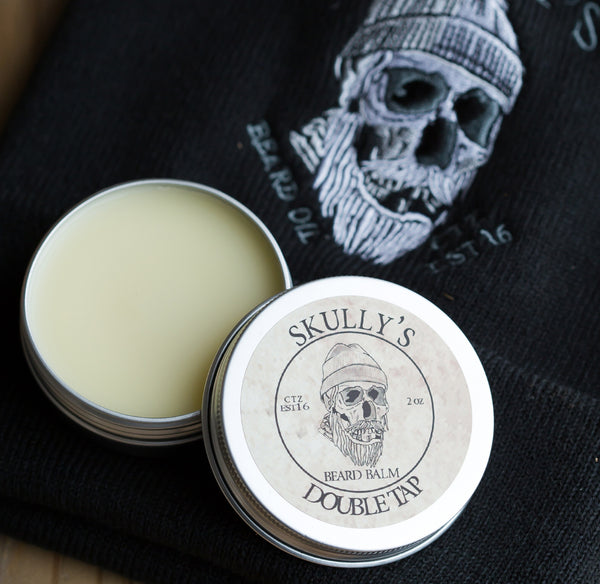 skullys beard oil beard balms, barbershop beard balm