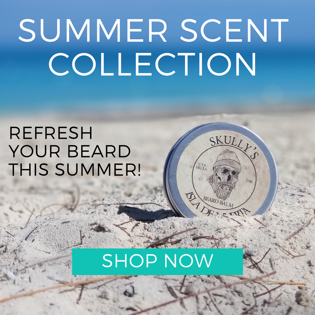 Summer beard oil collection by skullys ctz beard oil
