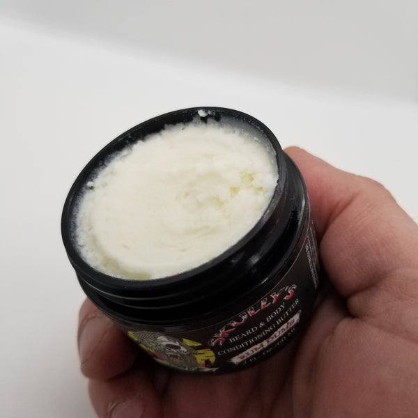 beard balm vs beard butter, beard butter vs beard balm by skullys beard oil