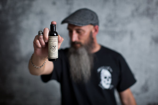 beard wash, beard shampoo, skullys ctz beard oil, no shave november grooming tips