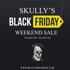Skullys beard oil black friday sale