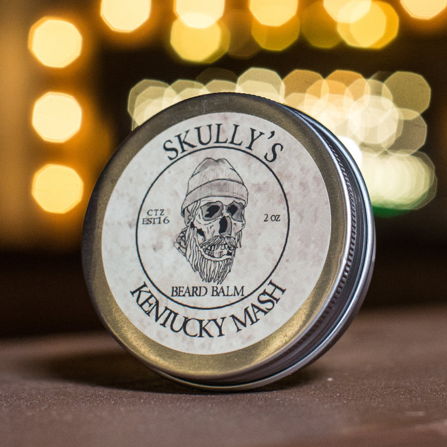 Kentucky Mash Beard Balm 2 oz. - Skully's Ctz Beard Oil