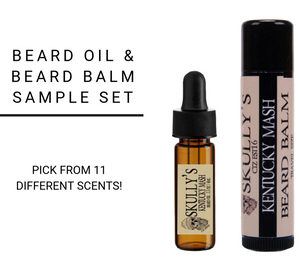 Beard Oil & Beard Balm Sample Pack