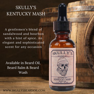 Kentucky Mash Beard Oil 1 oz.
