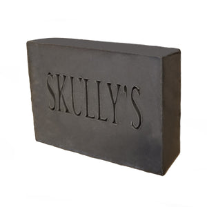 Skully's Aqua Beard & Body Activated Charcoal Bar Soap (3 Pack)
