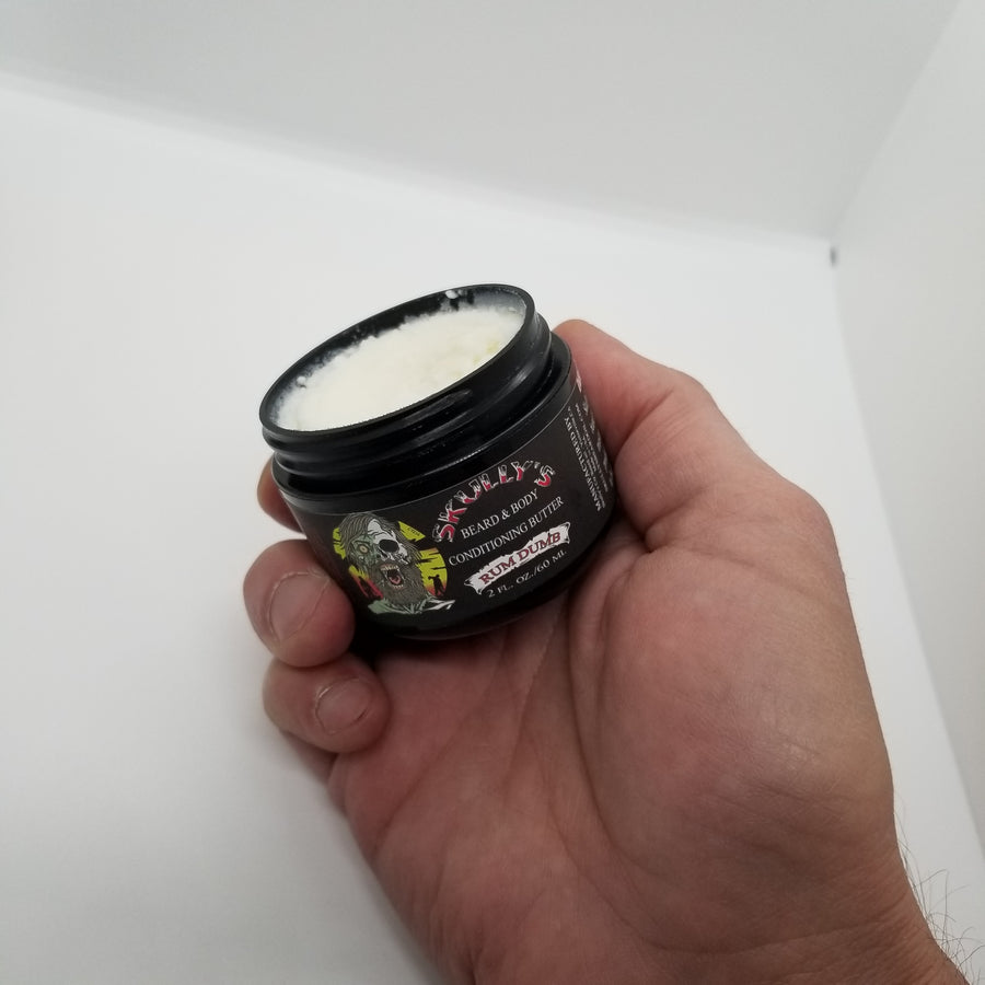 Rum Dumb Beard & Body Conditioning Butter 2 oz.