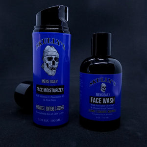 Mens Daily Face Care Combo Pack by Skully's Beard Oil