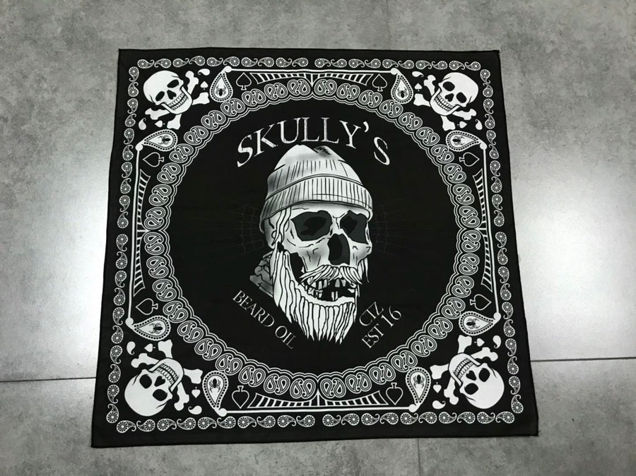 "SKULLY'S SKULL BANDANA - 22"" X 22"" 100% COTTON, bandanas"