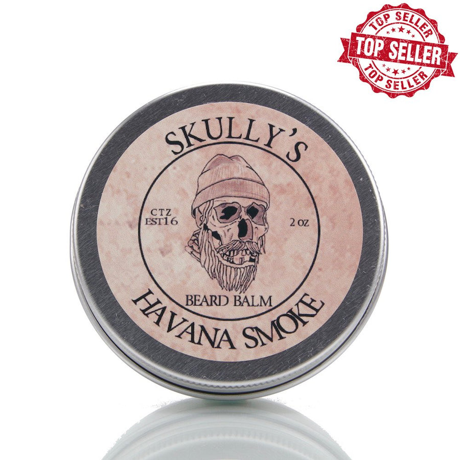 Havana Smoke Beard Balm 2 oz. - Skully's Ctz Beard Oil