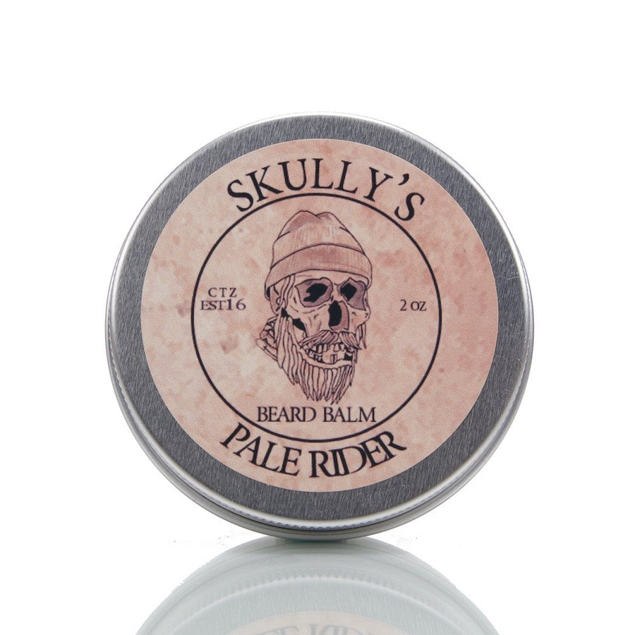Pale Rider Beard Balm 2 oz. (Unscented) - Skully's Ctz Beard Oil