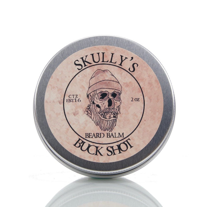 Buck Shot Beard Balm 2 oz. - Skully's Ctz Beard Oil