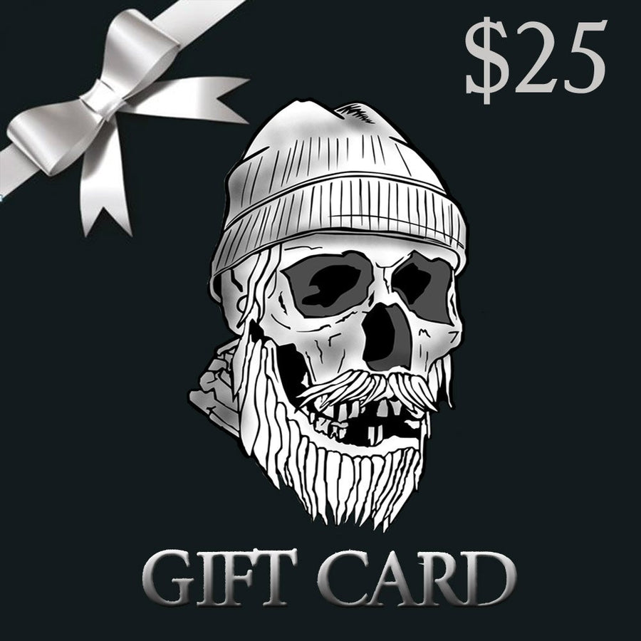 Skullys Ctz beard Oil gift card