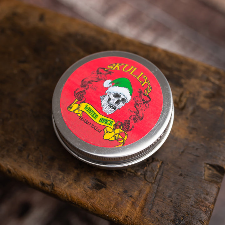 Winter Spice Beard Balm (Holiday Limited Edition) 2 oz. Only Available Until 12/31