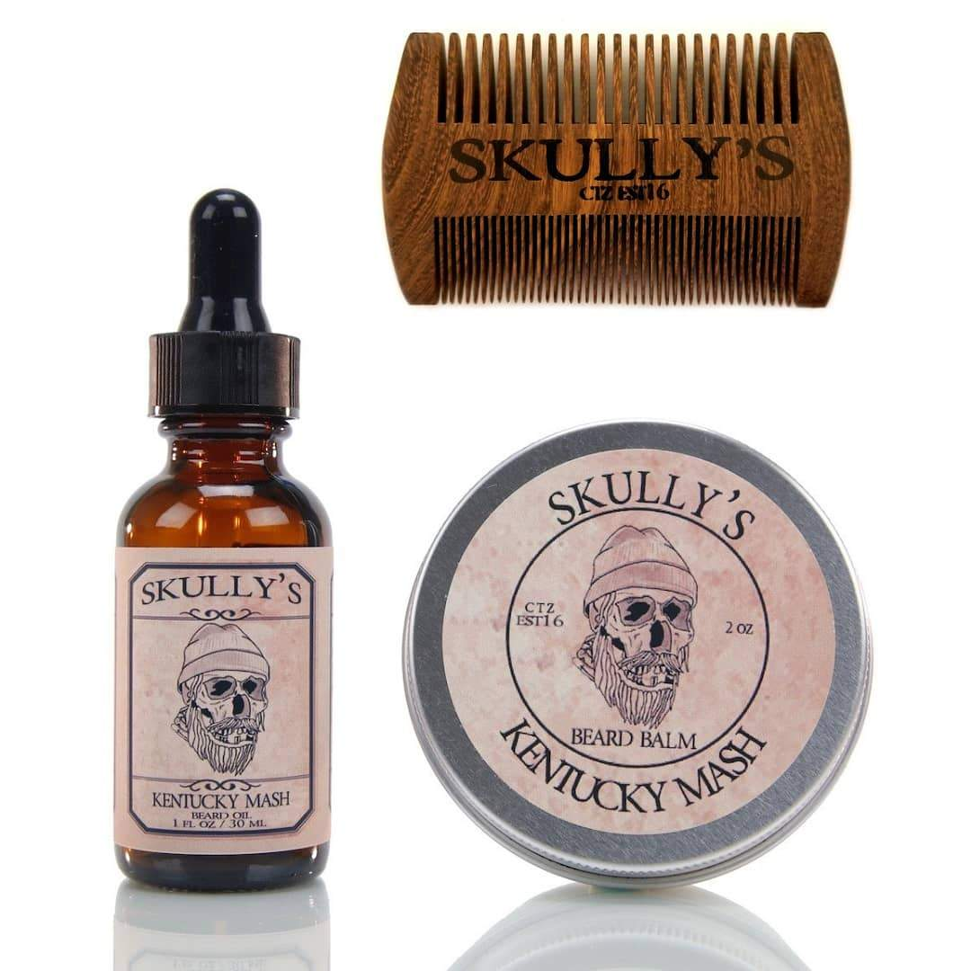 Skully's Beard Care Kit (Your choice of scent)