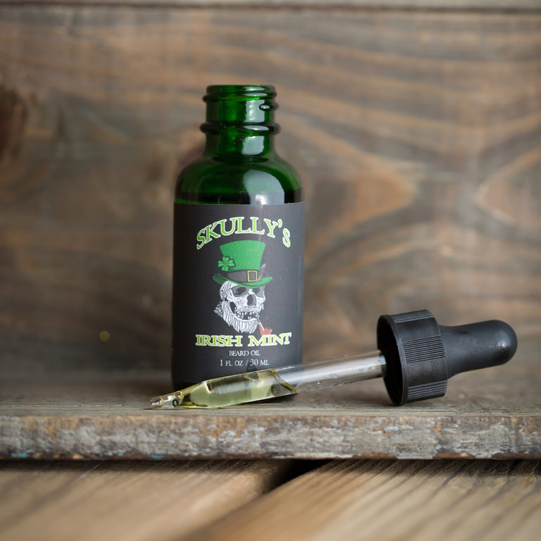 Irish Mint Combo Pack ( St Patrick's Day Limited Edition) Only Available Until March 17th - Skully's Ctz Beard Oil