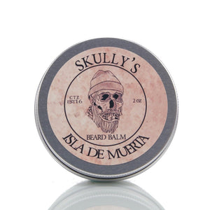Isla De Muerta Beard Balm 2 oz. - Skully's Ctz Beard Oil