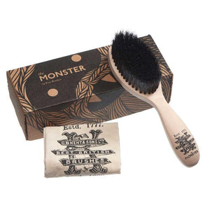 The MONSTER Beard Brush - Kent - Skully's Ctz Beard Oil