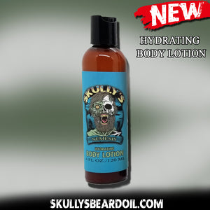 Nemesis Hydrating Body Lotion | Skully's Beard Oil