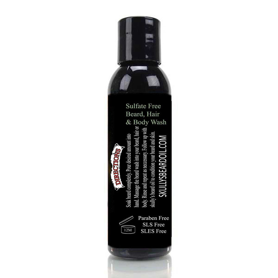 Numbskull Beard, Hair & Body Wash - 4 oz. (Beards Never Die Collection)