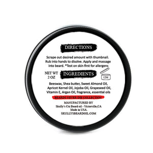 Dead Man Beard Balm 2 oz. - Beards Never Die Collection the best beard balm for growth and thickness. bears balm